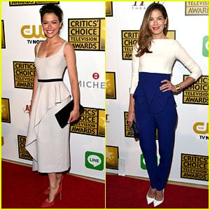Tatiana Maslany & Michelle Monaghan - Critics' Choice TV Awards 2014