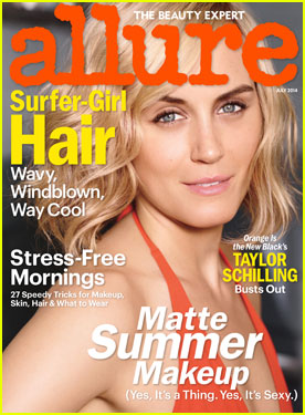 Taylor Schilling Talks Liberating Prison Beauty in 'Allure'!