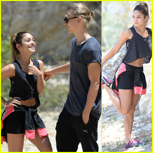 Vanessa Hudgens & Austin Butler Happily Go Hiking Together!