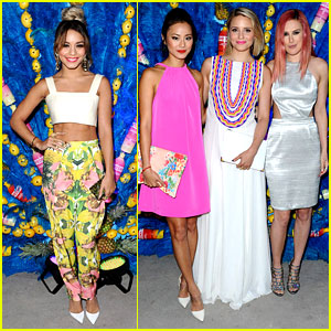 Vanessa Hudgens Shows Off Killer Abs at Svedka's Summer Samba