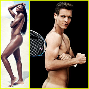 Venus Williams & Tomas Berdych Go Naked for ESPN's Body Issue!