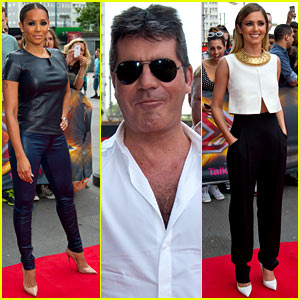 'X Factor UK' Judges Arrive Looking Stylish for London Auditions!