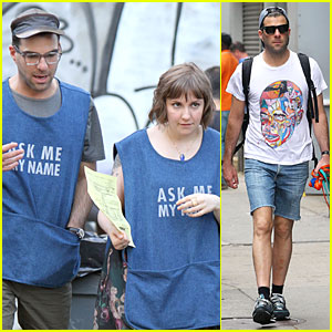 Zachary Quinto & Lena Dunham Want You to Ask For Their Name on 'Girls'!