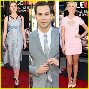 Zoey Deutch Joins 'Pitch Perfect' Stars Anna Camp & Skylar Astin at 'True Blood' Season 7 Premiere!