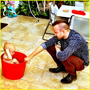 Aaron Paul Shows He'll Make the Cutest Dad One Day!