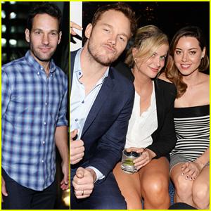 Aubrey Plaza Dating Chris Pratt Amy poehler & aubrey plaza celebrate ...