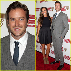 Armie Hammer & His Wife Elizabeth Chambers Honor Renowned Composer Hans Zimmer