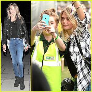 Cara Delevingne Is So Proud of Gal Pal Ellie Goulding at Wireless Festival!