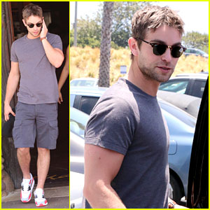 Chace Crawford Steps Out Looking Hot on Fourth of July