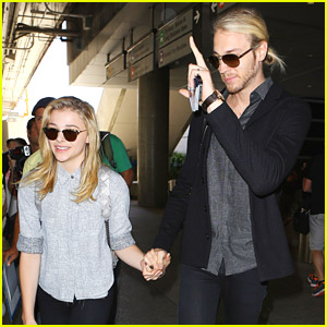 Chloe Moretz Meets Jared Leto While In Paris