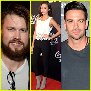 Chord Overstreet & Mark Salling Bring the Heat at ESPYs Pre-Party