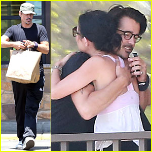 Colin Farrell Is Such a Loving Brother to Sis Claudine!
