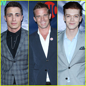 Colton Haynes & Cam Gigandet Heat Up the Red Carpet at Summer TCA Press Tour 2014!