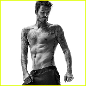 David Beckham's Hot Shirtless Body is on Display for New H&M Bodywear Collection!