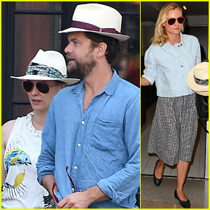 Diane Kruger & Joshua Jackson Wear Matching Hats in New York