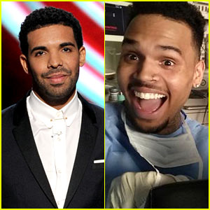Drake & Chris Brown Show There is No Feud at ESPYs 2014!