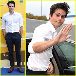 'Teen Wolf' Actor Dylan O'Brien Brings The Rain to Giffoni Film Festival