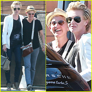 Ellen DeGeneres & Portia de Rossi Look As Happy As Ever!