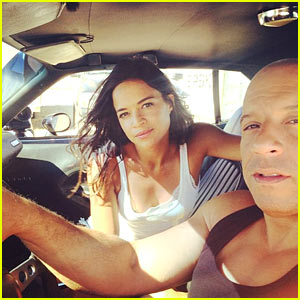 Michelle Rodriguez Pays Tribute to Paul Walker as 'Fast & Furious 7' Wraps Production