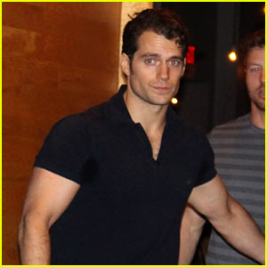 Henry Cavill Spotted in Detroit on 'Batman V Superman' Break!