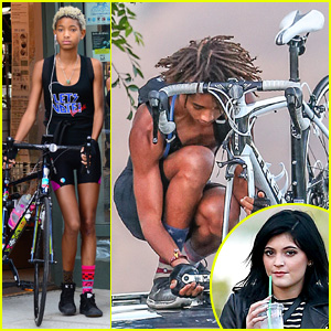Jaden & Willow Smith are Bicoastal Biker Siblings! | Jaden
