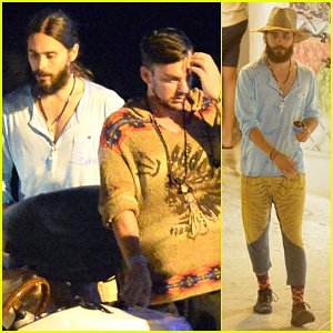 Jared Leto Vacations in Italy with his Older Brother Shannon!