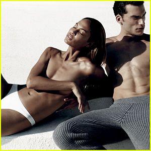 Model Joan Smalls Poses Topless for 'V' Magazine's Model Mania Issue!