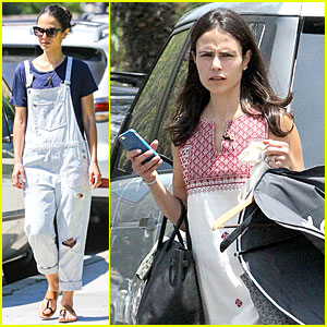 Jordana Brewster Is the Latest Babe to Adopt Overalls Trend!