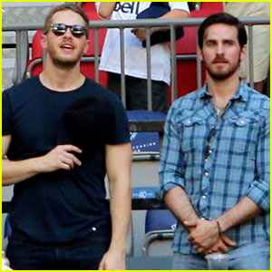 Josh Dallas & Colin O'Donoghue Catch Major League Soccer Game Amidst World Cup Fever!