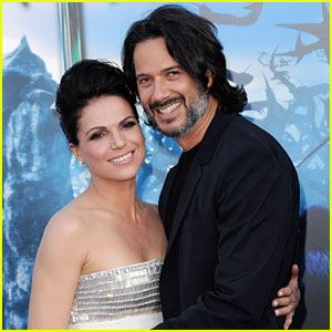 Family photo of the actress, married to Fred Di Blasio,  famous for Once Upon a Time & Medium.