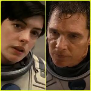 Matthew McConaughey & Anne Hathaway Blast Off to Save the World in New 'Interstellar' Trailer - Watch Now!