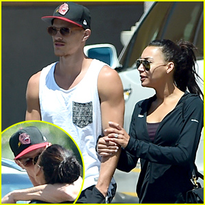 Newlyweds Naya Rivera & Ryan Dorsey Kiss, Look So in Love in Los Angeles - See Her Huge Wedding Ring!