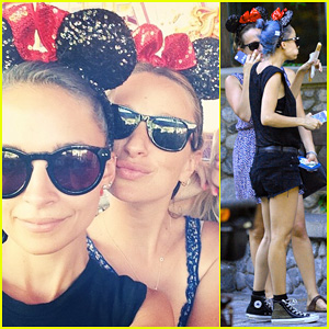 Nicole Richie Hits Disneyland with Jennifer Meyer After 'Candidly Nicole' Premieres!