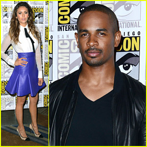 Nina Dobrev & Damon Wayans, Jr. Play 'Let's Be Cops' at Comic-Con 2014
