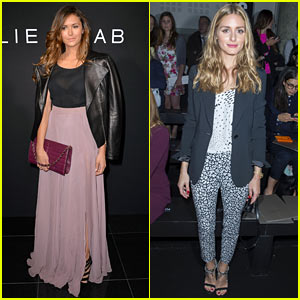 Nina Dobrev Brings Her Fashionable Self to Elie Saab's Haute Couture Presentation