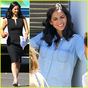Olivia Munn Congratulates 'Newsroom' Co-star Jeff Daniels On Emmy Nomination