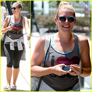 Busy Philipps Looks Amazing One Year After Giving Birth to Baby Cricket