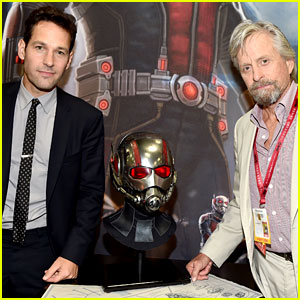 Paul Rudd Discusses His 'Ant-Man' Abs at Comic-Con 2014!