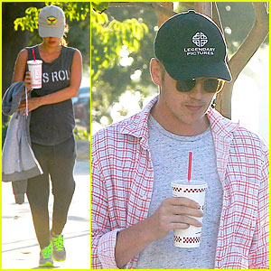 Rachel Bilson Says 'Let's Roll' to Lunch with Hayden Christensen!