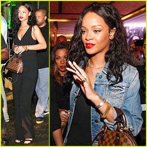 Rihanna Gets Full on Brazilian BBQ Before FIFA World Cup Party