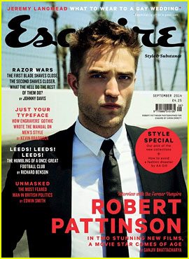 Robert Pattinson on K
