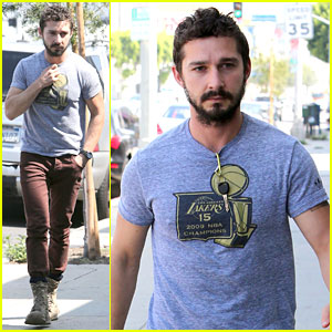 Shia LaBeouf Celebrates Fourth of July by Working on Himself