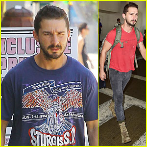 Shia LaBeouf Uses Alias Tishman For Los Angeles Return