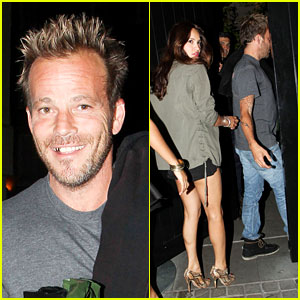 Stephen Dorff Heads Home with Several Girls on His Birthday