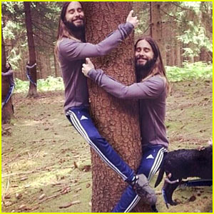 What Does Jared Leto Think of the Hugging Meme?
