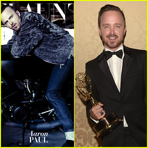 Emmy Winner Aaron Paul Flaunts It for a Fashion Vid (Exclusive)