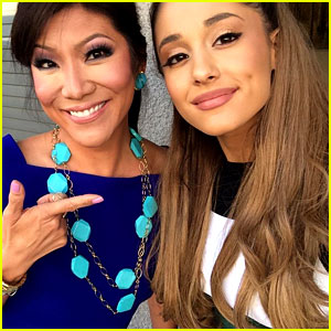Ariana Grande Visits 'Big Brother' Set to Cheer on Frankie!