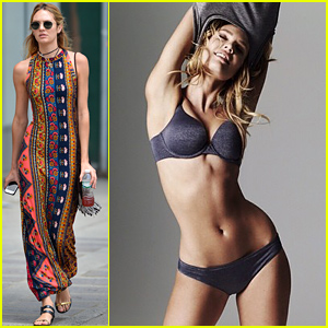 Candice Swanepoel Strips Down for Sexy Victoria's Secret Pic!