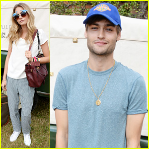 Cara Delevingne & Douglas Booth Enjoy the Outdoors at Mulberry's Wilderness Picnic