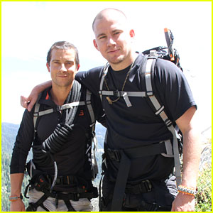 Channing Tatum Strips Off His Pants After Jumping Out of a Helicopter - Watch the Crazy Video!
